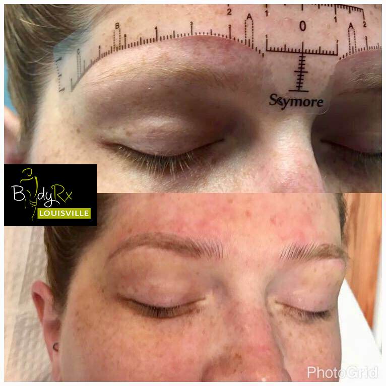 Microblading.. At Bodyrx Louisville