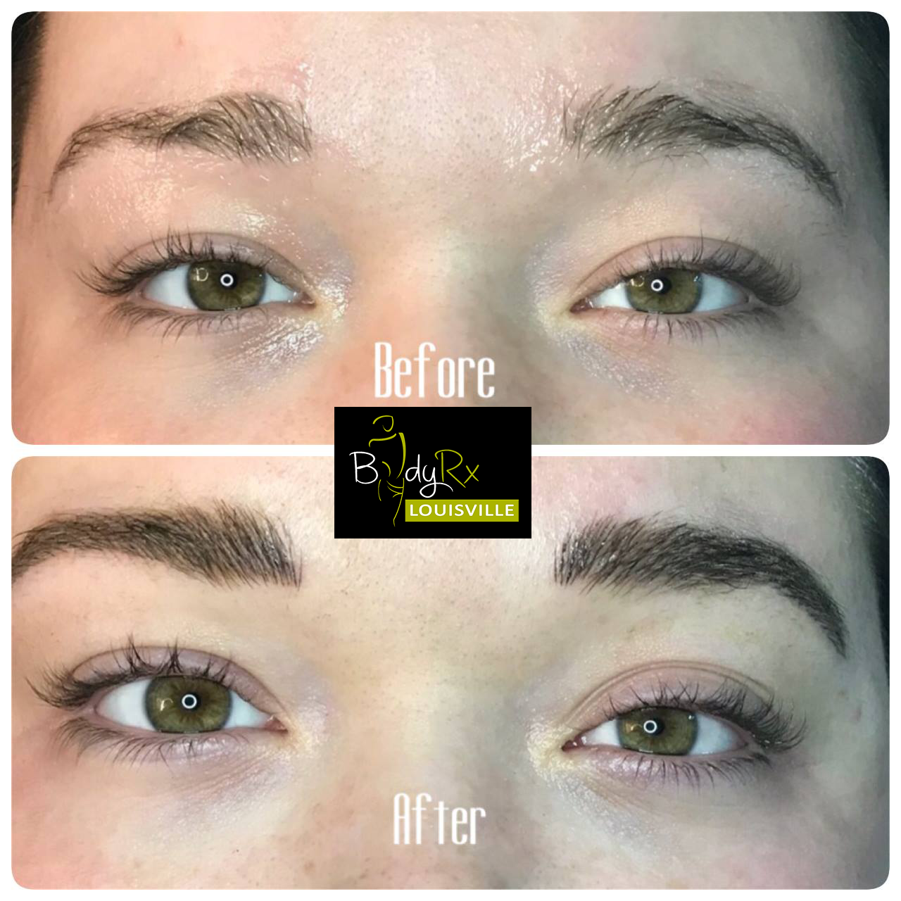 Microblading And Shadding At Bodyrx Louisville 1