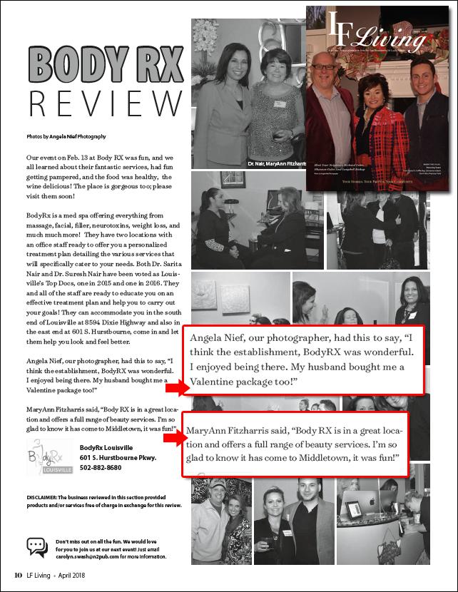 Bodyrx on LF Magazine